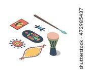 africa  vector isometric... | Shutterstock .eps vector #472985437