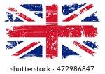 Grunge Uk Flag.vintage United...