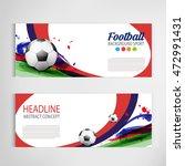 soccer tournament modern sport... | Shutterstock .eps vector #472991431