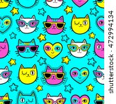seamless pattern with fashion... | Shutterstock .eps vector #472994134
