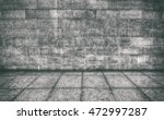 wall and floor are made frome... | Shutterstock . vector #472997287