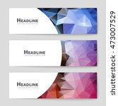 abstract vector layout... | Shutterstock .eps vector #473007529