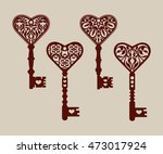collection of templates of... | Shutterstock .eps vector #473017924