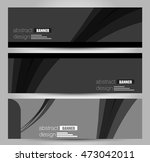 banner template. abstract... | Shutterstock .eps vector #473042011
