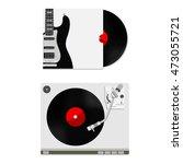 vector illustration of red... | Shutterstock .eps vector #473055721