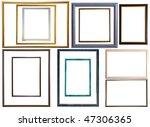 Set Of  12 Modern Thin Plastic...
