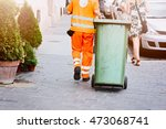 Worker Of Cleaning Company In...