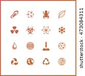 high quality icon set. space... | Shutterstock .eps vector #473084311