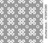 seamless line pattern.... | Shutterstock .eps vector #473091085