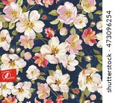 Spring Floral Pattern With...