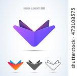 vector abstract logo design...
