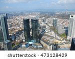 frankfurt city view from the... | Shutterstock . vector #473128429