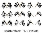 set of black and white... | Shutterstock . vector #473146981