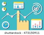 flat linear design modern... | Shutterstock .eps vector #473150911
