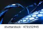 organic structure abstract 3d... | Shutterstock . vector #473152945