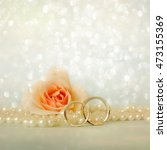 wedding rings | Shutterstock . vector #473155369