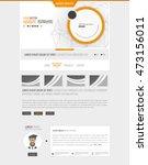 website design vector...