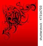 tribal art | Shutterstock .eps vector #47316703