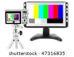 the mass compact digital camera ...   Shutterstock . vector #47316835
