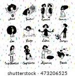 cute zodiac signs icon....