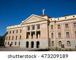 originally the arizona state... | Shutterstock . vector #473209189