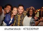 multi ethnic millennial group...   Shutterstock . vector #473230969