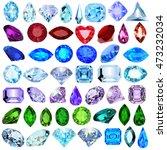 illustration set of precious... | Shutterstock .eps vector #473232034