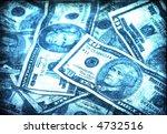 grunge us bills | Shutterstock . vector #4732516