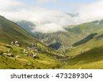 beautiful nature on mountains ...   Shutterstock . vector #473289304