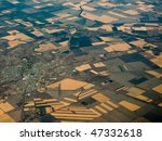 aerial view of fertile... | Shutterstock . vector #47332618