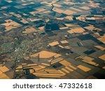 aerial view of fertile... | Shutterstock . vector #47332618