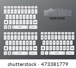 smartphone keyboard template....