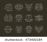collection of thin line...   Shutterstock .eps vector #473400184
