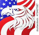united states vector background.... | Shutterstock .eps vector #473407087