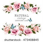 Natural Vintage Greeting Card...