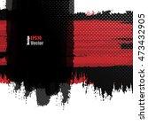abstract grungy vector...   Shutterstock .eps vector #473432905