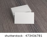 business name card on the table | Shutterstock . vector #473436781