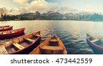 beautiful autumn morning over a ... | Shutterstock . vector #473442559