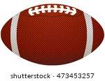 american football ball    Shutterstock .eps vector #473453257