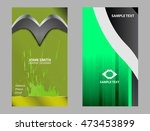 business card template  | Shutterstock .eps vector #473453899