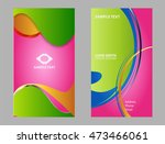 vector business card  | Shutterstock .eps vector #473466061