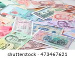 banknotes from different... | Shutterstock . vector #473467621