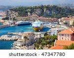 Scenery View Of Big Cruise...