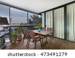 balcony with excellent view | Shutterstock . vector #473491279