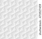 white seamless geometric... | Shutterstock .eps vector #473527459