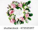inspirational quote written in... | Shutterstock . vector #473535397
