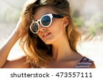 bright lifestyle fashion... | Shutterstock . vector #473557111