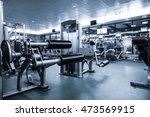 fitness club in luxury hotel...   Shutterstock . vector #473569915