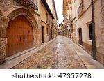Old Town In Spain