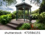 Beautiful Metal Gazebo Under...